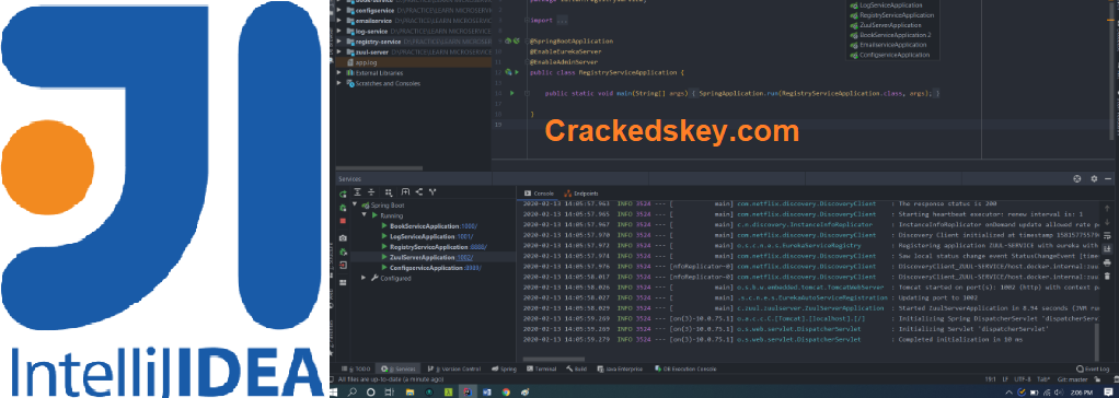 IntelliJ IDEA 2020.2 Crack Plus Activation Code Latest Download