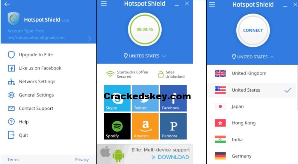 Hotspot Shield VPN Key