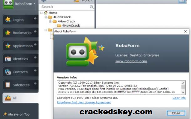 RoboForm Key