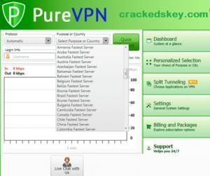 PureVPN key